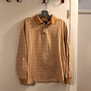 Gant long sleeve plaid polo